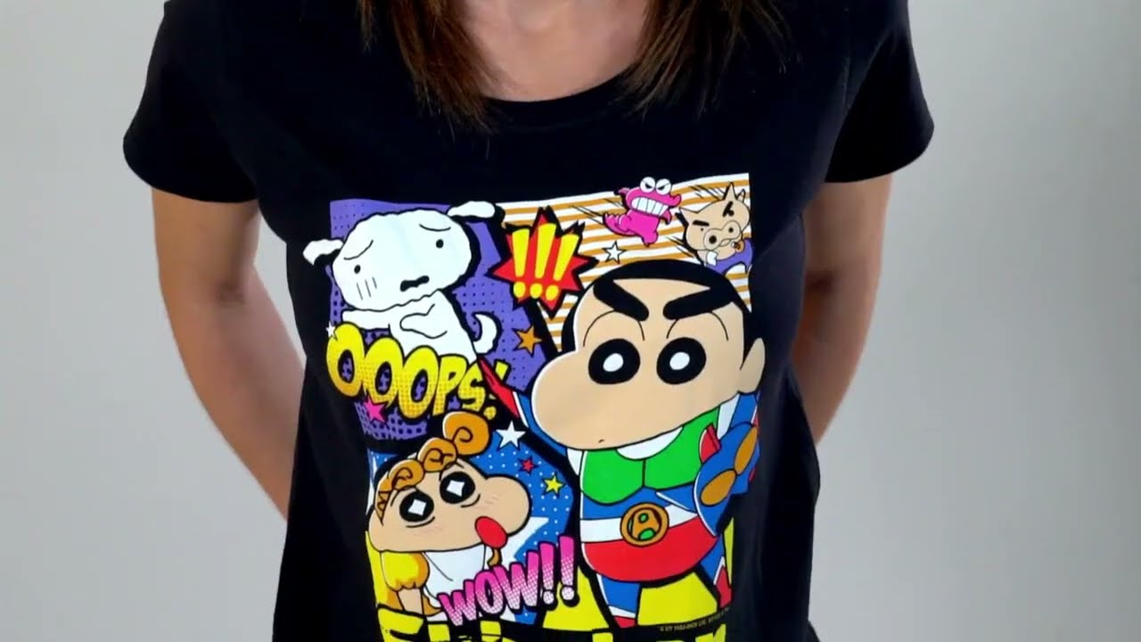 T-shirts do Shin chan