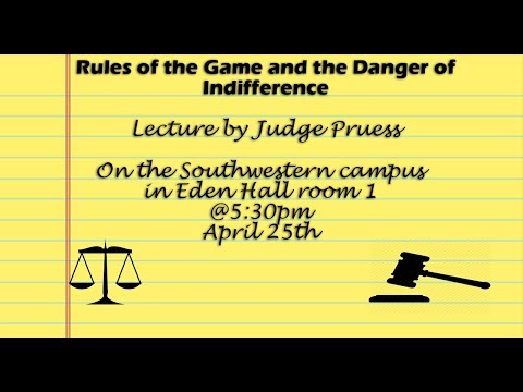 Rules of the Game and the Dangers of Indifference
