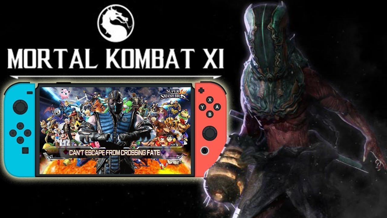 Mortal Kombat XI REVEAL AT NINTENDO E3! MKXI For Switch & Sub Zero Special  Guess in Super Smash Bros