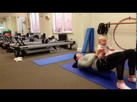 Mums & Bubs Pilates - Bridging
