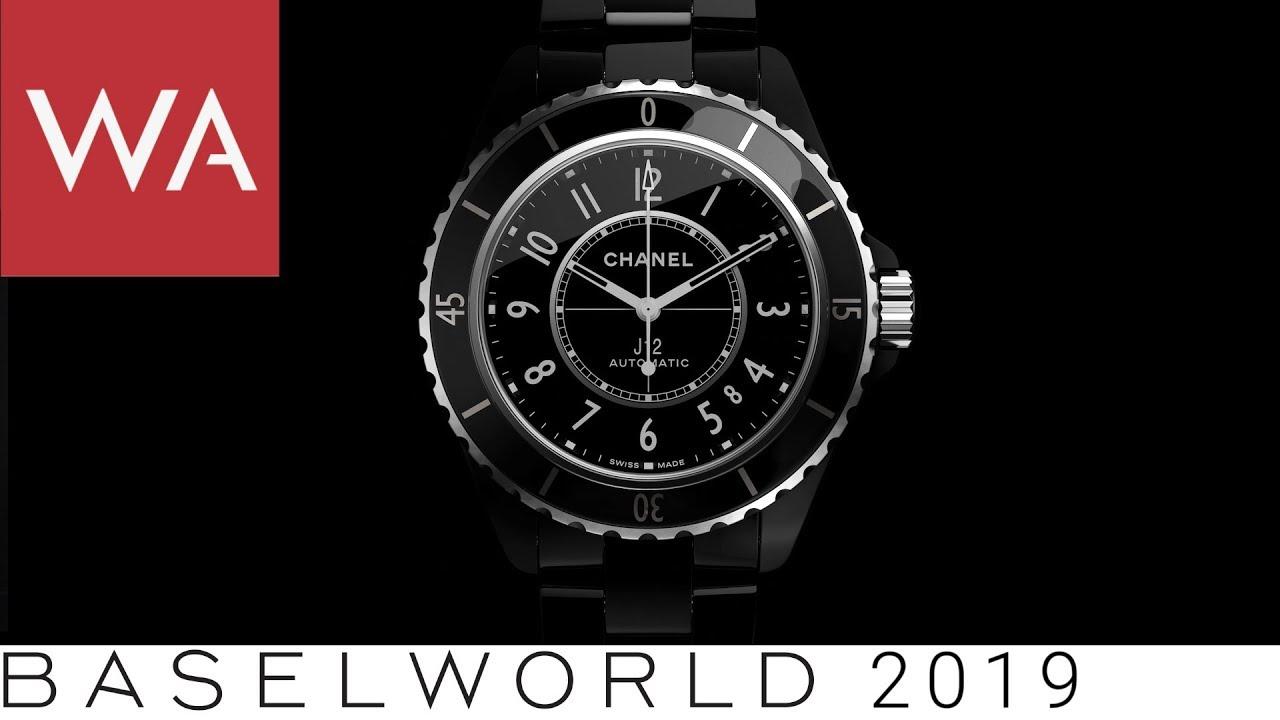 24497bdc Baselworld 2019: The new CHANEL J12 - talking to Nicolas Beau, Head ...