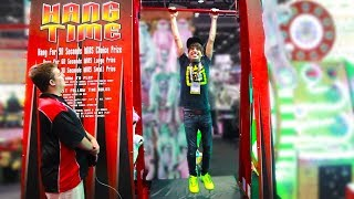 I Won Weird Carnival Games You Never Seen Before! IAAPA Amusement Expo | Arcade Matt