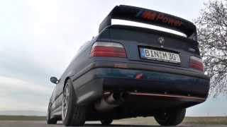Soundcheck BMW E36 M3 3.0 G-POWER Export Exhaust Notes Rev´s Sound