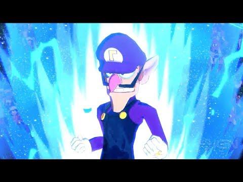 Dragon Ball FighterZ Mod: Waluigi Smashes Goku!