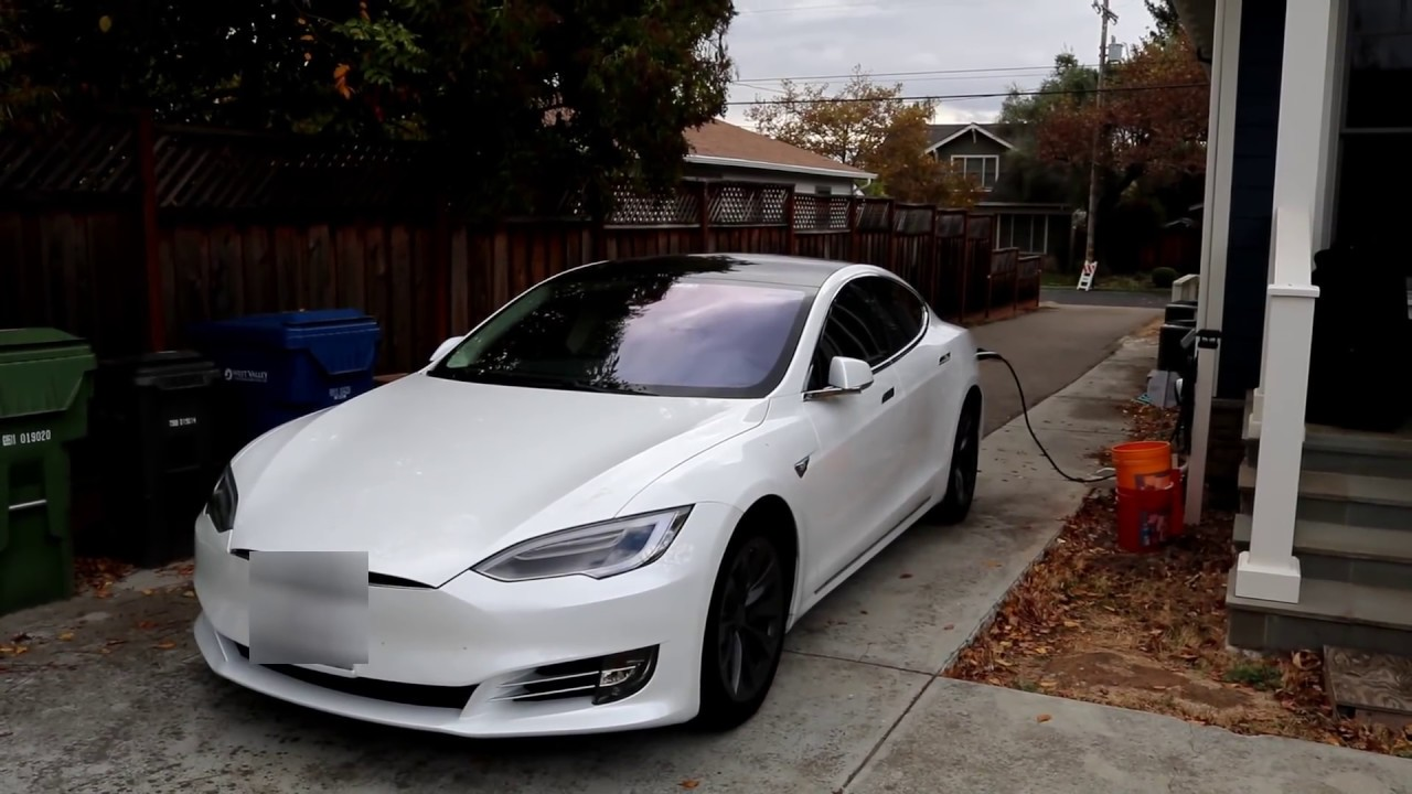 Tesla Electric Vehicle Charger Install Howto