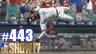 BACK FLIP! | MLB The Show 17 | Road to the Show #443