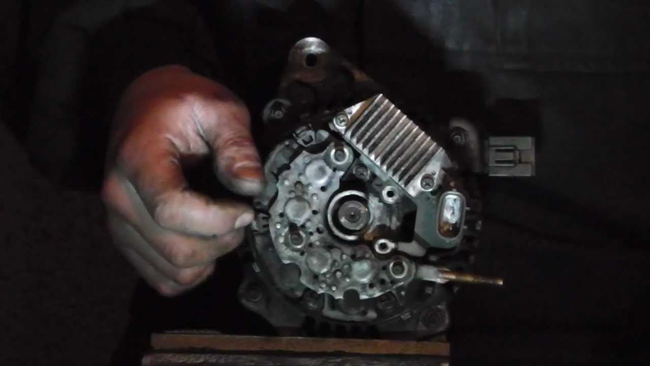 ToyotaHonda Alternator diagnose,not charging problem and repair  YouTube