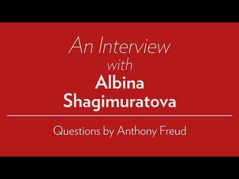 A Conversation with Anthony Freud and Albina Shagimuratova