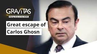 Gravitas: 'The great escape' of Carlos Ghosn