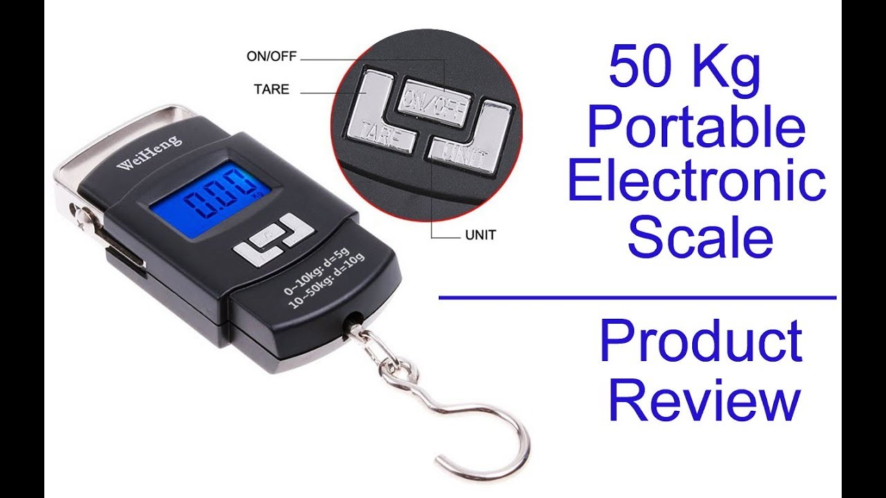 Portable Electronic Scale - WH-A08 - Home Product Review ...