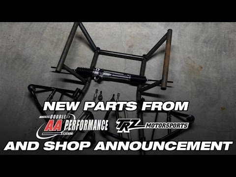 New Parts from AA Performance and New Shop Announcement