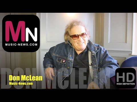 Don McLean I Interview I Music-News.com
