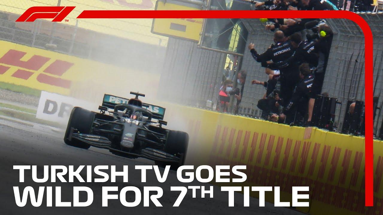 Download 2020 Turkish Grand Prix: Turkish Commentator Goes Wild For Hamilton's Seventh Title Win!