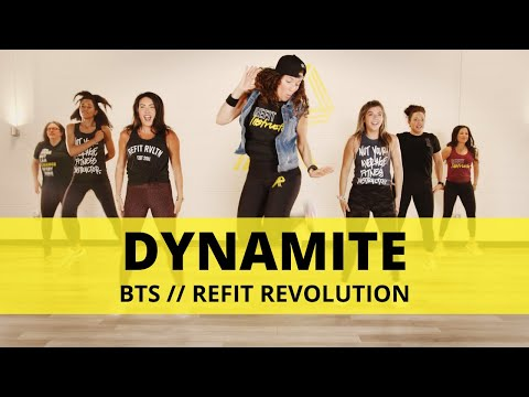 """Dynamite""    @BANGTANTV     Dance Fitness Choreography    REFIT® Revolution"