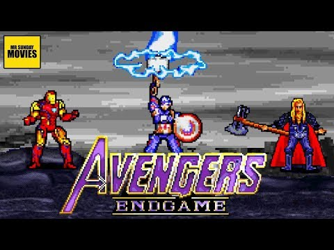 16-bit recreation of the final battle in 'Avengers: Endgame' deserves to be watched
