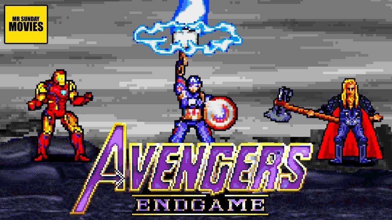 Download Avengers Endgame Final Battle Part 1 - 16 Bit Scenes