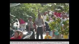 POLRES PESISIR SELATAN POLDA SUMBAR TERJUNKAN 270 PERSONIL UNTUK PENGAMANAN 19 TITIK LOKASI BALIMAU