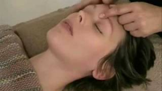 Learn Indian Head Massage - Lying Down Techniques Video 1