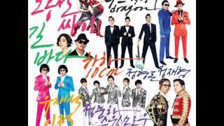 G.G (G-DRAGON&朴明秀) feat Park Bom - 花天酒地 (無限挑戰 西海岸高速公路歌謠祭)