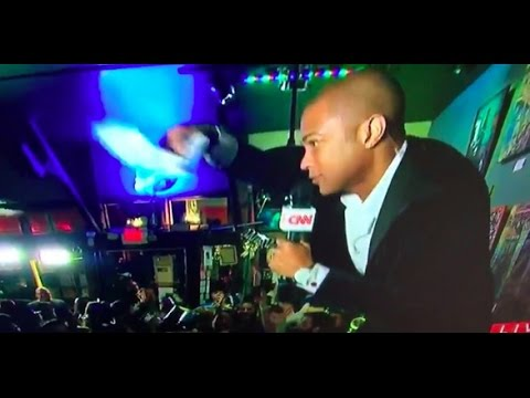 Don Lemon Reporting DRUNK Live, CNN Cuts Mic off After Saying 2016 Was 'Awful'