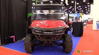 2018 Mahindra Retriever 1000 Utility ATV - Walkaround - 2018 Drummondville ATV Show