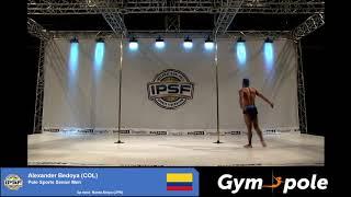 WPSC19 - Pole Sports - Senior Men- Alexander Bedoya - Colombia