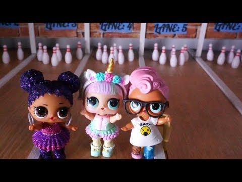 LOL SURPRISE DOLLS Go Bowling And Make A New Friend!