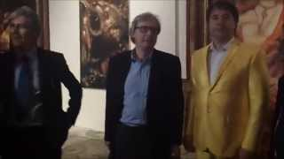 Alexander Kanevsky & Vittorio Sgarbi - 2° Biennale Internazionele d`arte di Palermo