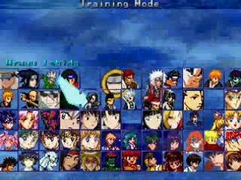 Mugen characters anime download