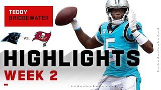 Teddy Bridgewater's HUGE Passing Day w/ 387 Yds | NFL 2020 Highlights