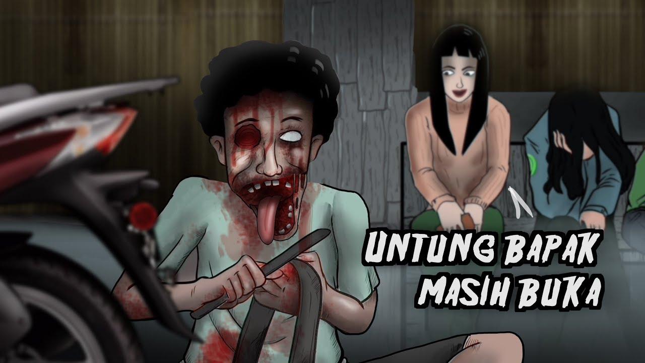 Tambal Ban Setan Pak Rosmadi #HORORMISTERI | Kartun  Hantu Tukang, Animasi Horor, Cerita Misteri