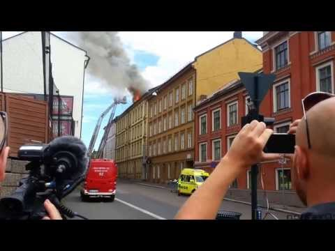 2013-07-23 Brann på Fredensborg i Oslo