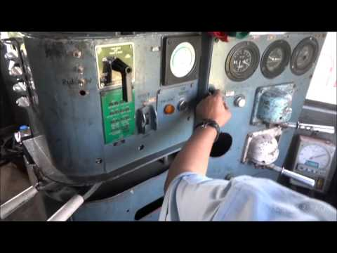 SPECTACULAR 120 kmph ALCo LOCO RIDE ! INSIDE FASTEST DIESEL