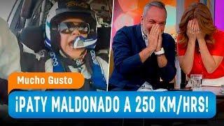 Paty Maldonado y el desafío rally a 250 km/h - Mucho Gusto 2018