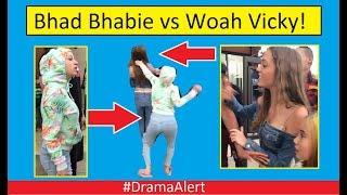 Bhad Bhabie vs Woahh Vicky! (FOOTAGE) #DramaAlert Logan Paul vs KSI! Billy Mitchell Scandal!
