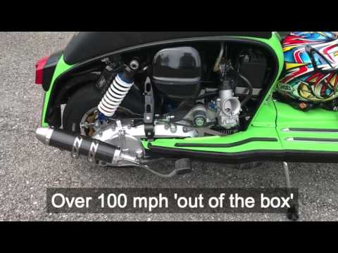 47bhp 100mph+ Casa Performance SSR250 Lambretta Road Test