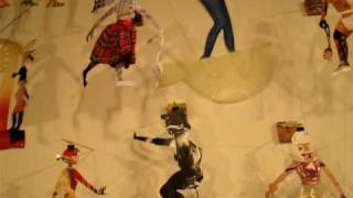 "Maryalice Johnston art installation, ""My Girls"""