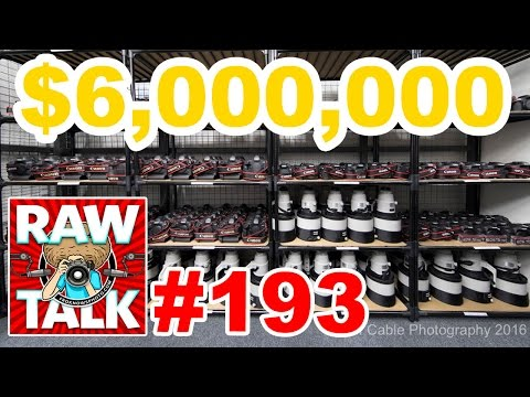 $6,000,000 in Canon Gear, 1500 Lenses 950 Bodies, Instagram Vs Snapchat: RAWtalk 193