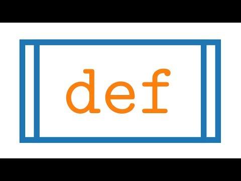Python: Funktionen