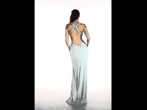 9ce07be288 Vestido De Fiesta Coral Escote En La Espalda Sousoly Boutique - YouTube