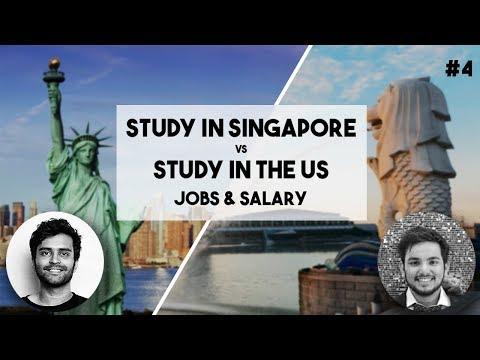 JOBS & SALARY   SINGAPORE Vs US (4/5)