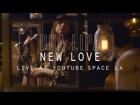 Dua Lipa - New Love // YouTube Music Foundry