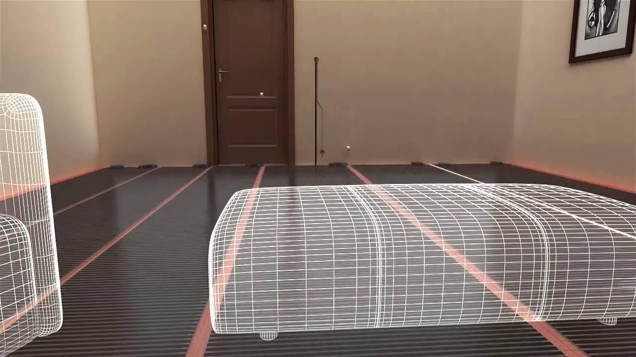 Instalaci n de folio radiante ecofilm bajo suelo laminado - Instalacion de suelo laminado ...