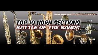 My Top 10 Horn Sections (Remastered)