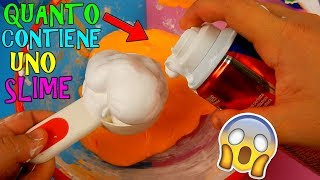 SLIME! QUANTI INGREDIENTI RIESCO A METTERE DENTRO! (SLIME TEST) Iolanda Sweets