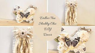 Dollar Tree Diy Shabby Chic Decor!!!