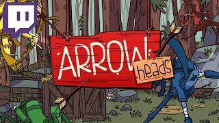 Arrow Heads - #2 - Unlocking New LOOT! (4 Player Gameplay)