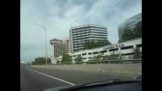 Stamford, CT from the HIGHWAY!