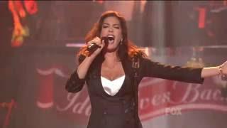 Teri Hatcher   Before He Cheats  ( LIVE)  on Idol Gives Back