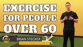 Exercise for People Over 60 - Your Exercise Routine